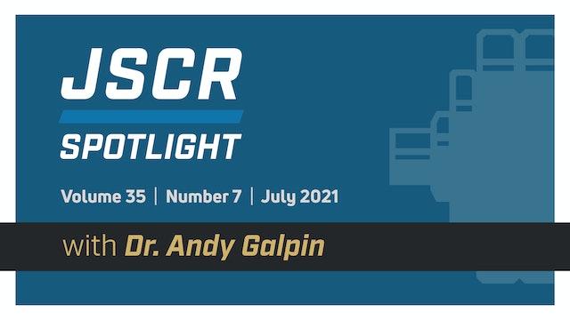 JSCR Spotlight - July 2021