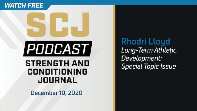 LTAD Special Topic - Rhodri Lloyd