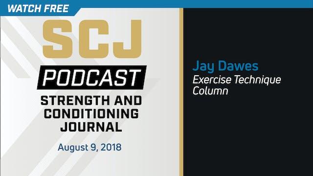 Exercise Technique Column - Jay Dawes