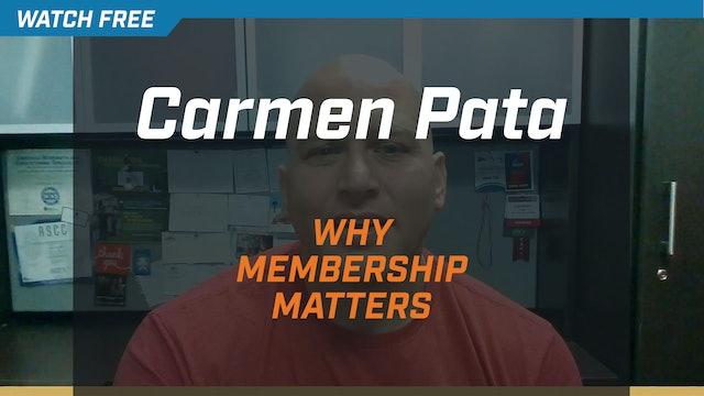 Carmen Pata on Why NSCA Membership Matters