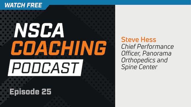 Episode 25 - Steve Hess