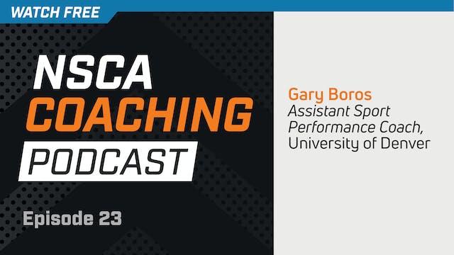Episode 23 - Gary Boros
