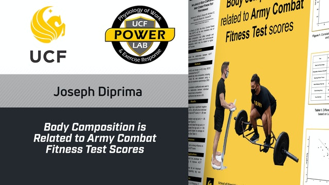Body Composition is Related to Army Combat Fitness Test Scores