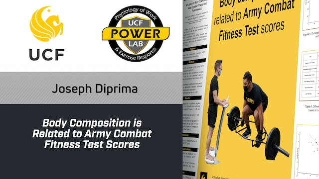 Body Composition is Related to Army C...
