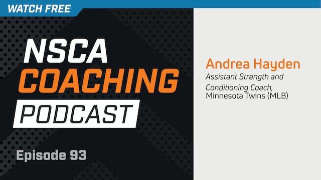 Episode 93 - Andrea Hayden