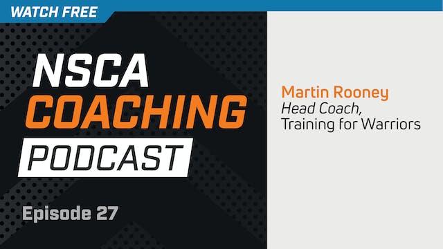 Episode 27 - Martin Rooney