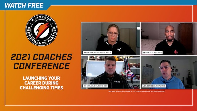Launching Your Career During Challenging Times: Gatorade Performance Partner