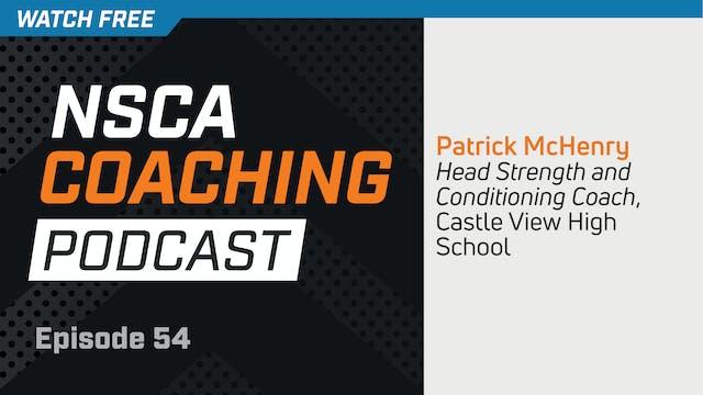 Episode 54 - Patrick McHenry