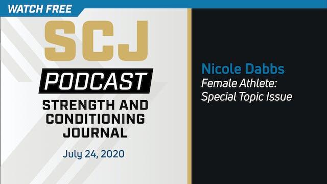 Female Athlete Special Topic - Nicole...
