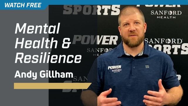 Mental Health & Resilience with Andy Gillham