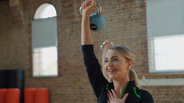 Kettlebell Workout with Olivia