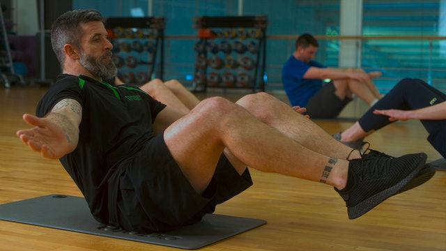 Low-Intensity Core Workout with Stephen