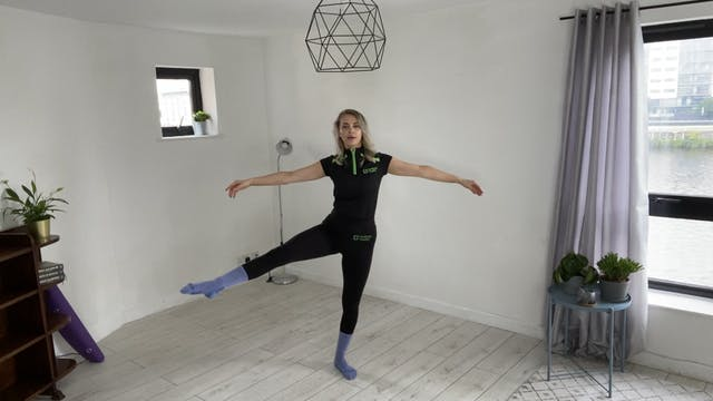 Dancers' Tone Workout with Olivia