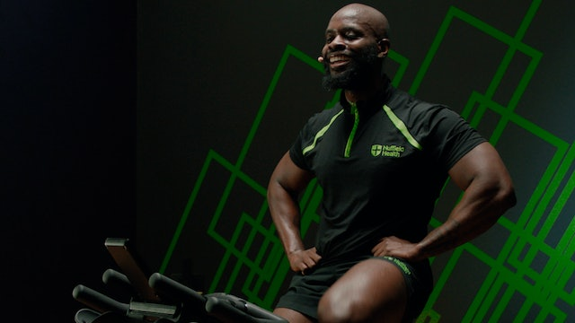 Cycle Workout with Kassim #2