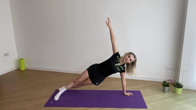 Core Pilates with Olivia #1