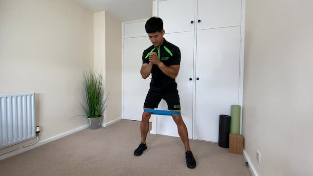 Resistance Band Lower Body Workout wi...