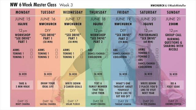 Week 3 Calendar
