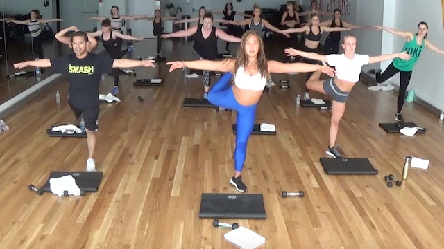 Dumbbells and Thighs:  NW Method Mat and Dumbbell Workout
