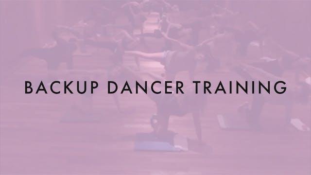 Backup Dancer Training