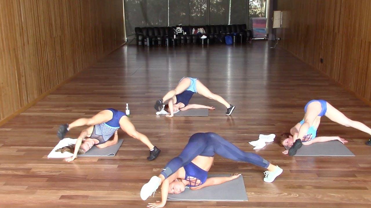 Hip Shaper:  NW Method Mat Toning Workout