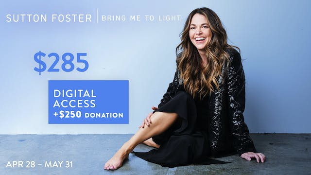 $285 | Bring Me to Light + Donation