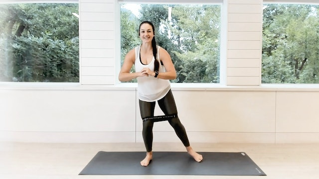22 Min O2 Band Sculpt with Michelle Faurer