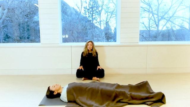 20 Min Yoga Nidra with Terri Barnett