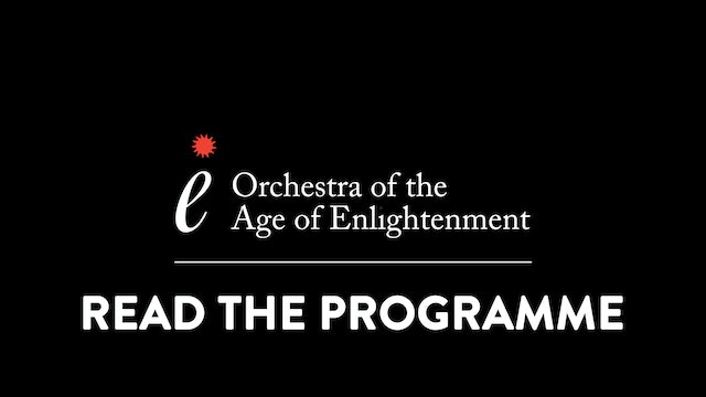 Embers of Romanticism Programme