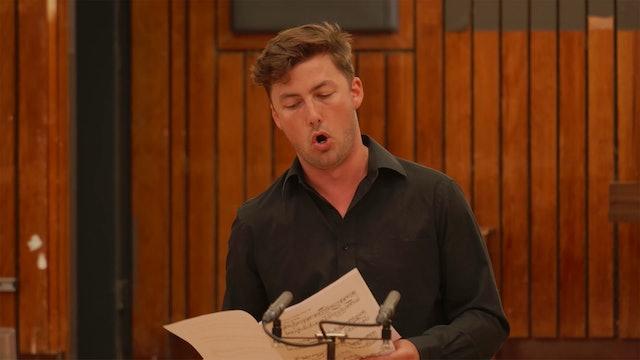 The Mark Padmore Masterclasses: Dominic Sedgwick (Baritone)