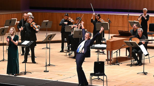 Roderick Williams Directs Bach and Ha...