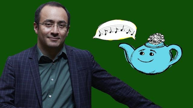 Tea with Netty: Conductor Riccardo Minasi