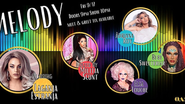 MELODY: A Drag Show with Live Singing