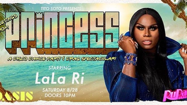 PRINCESS · W/ LALA RI · RuPaul's Drag...
