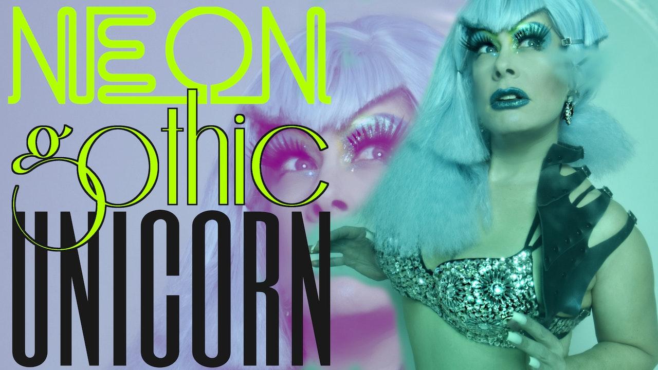 Neon Gothic Unicorn