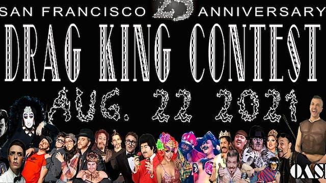 The 25th Annual SF Drag King Contest