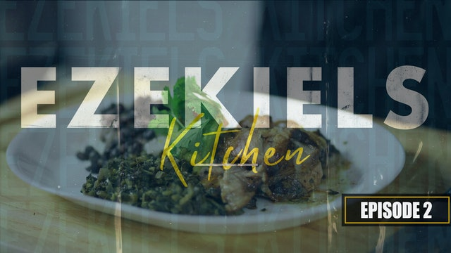 S1 E2 - Ezekiel's Kitchen - Caribbean Pork Roast