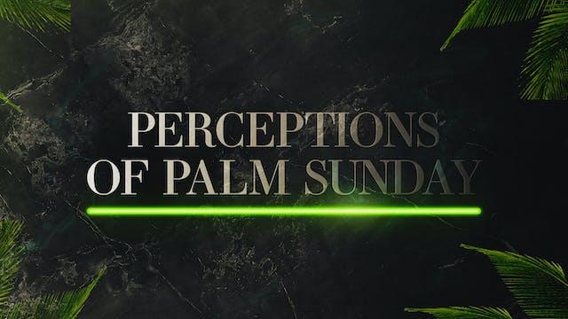 Perceptions of Palm Sunday 2021