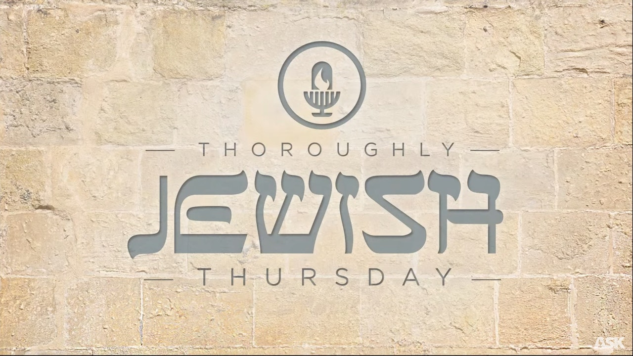 Ask Dr. Brown - The Line of Fire - Thoroughly Jewish Thursday