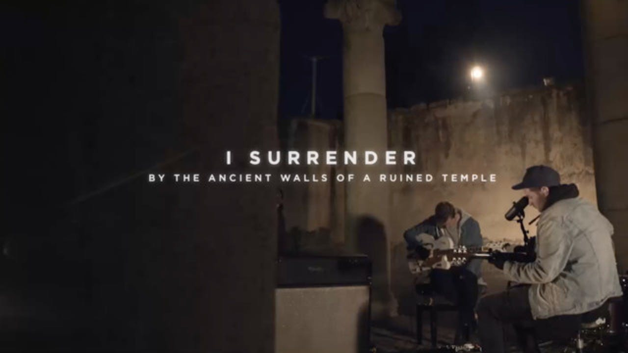 I Surrender [By The Ancient Walls Of A Ruined Temple]