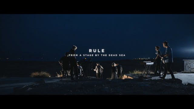 Rule [From A Stage By The Dead Sea]