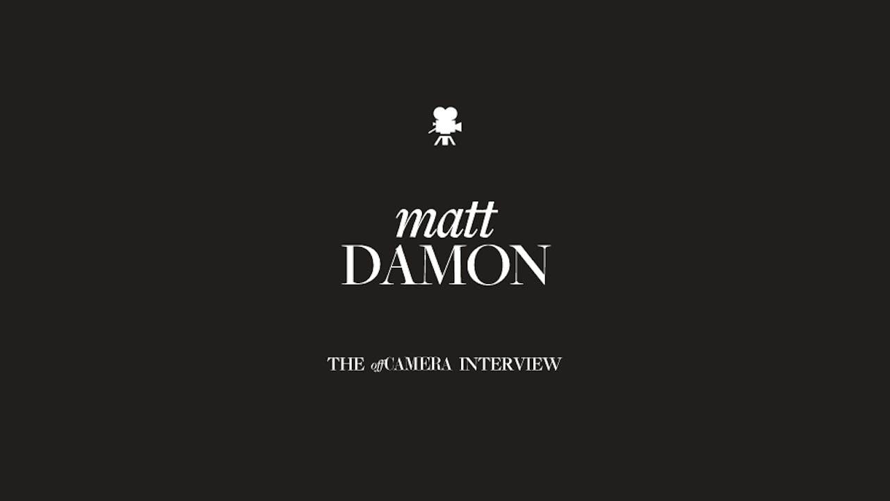 Ep 15. Matt Damon