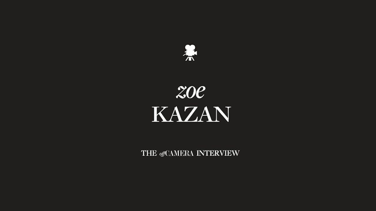 Ep 110. Zoe Kazan