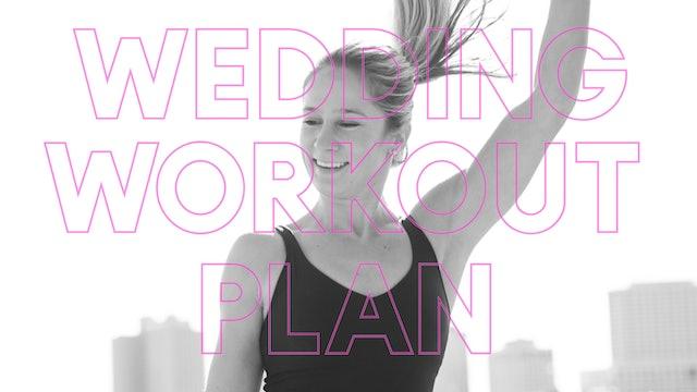 WEDDING WORKOUT PLAN