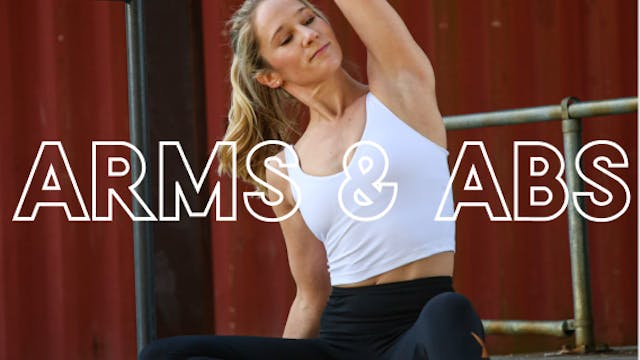 DAY 27. ARMS & ABS (LIVE)