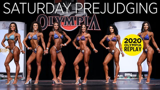 Olympia Pre-Judging, Saturday