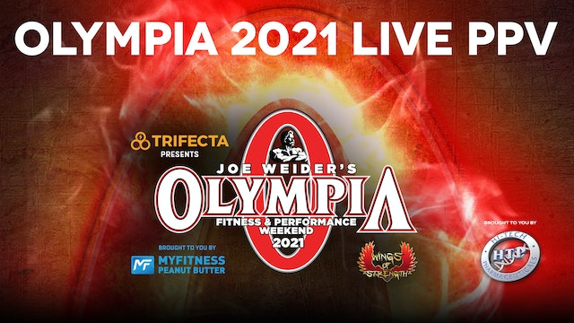 Olympia 2021 Premium PPV Package