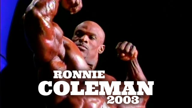 Olympia Classic: Ronnie Coleman 2003
