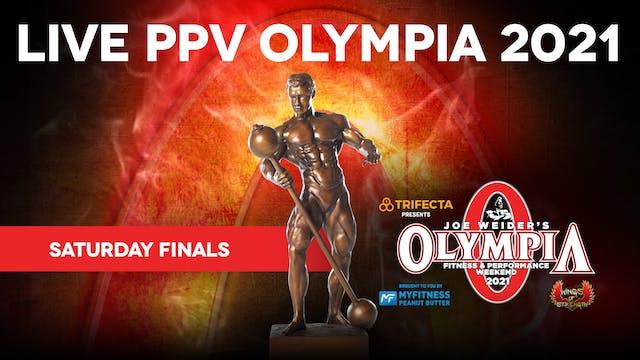 2021 Olympia Finals, Saturday