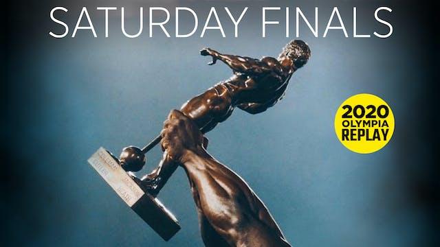 Olympia Finals, Saturday