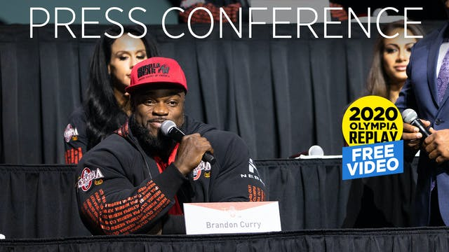 2020 Olympia Press Conference